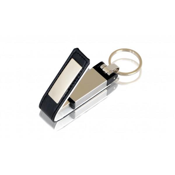 Deri Metal USB Bellek 01