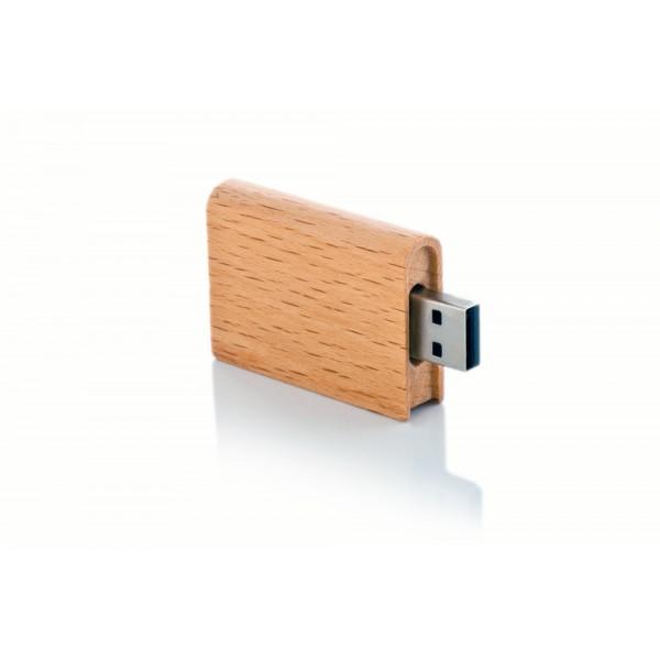 Ahşap USB Flash Bellek 04