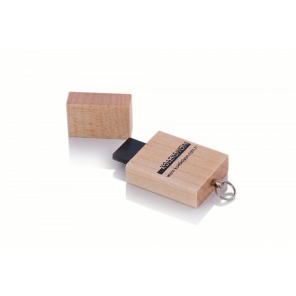 Ahşap USB Flash Bellek 06