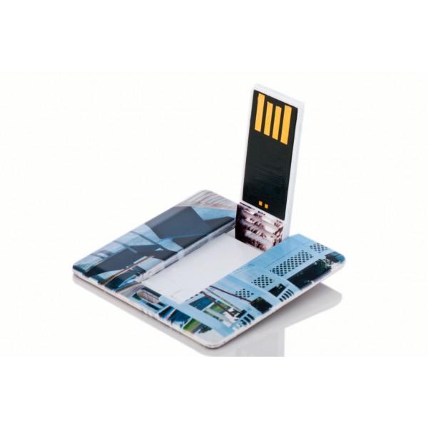 Kare Kart Şeklinde USB Flash Bellek