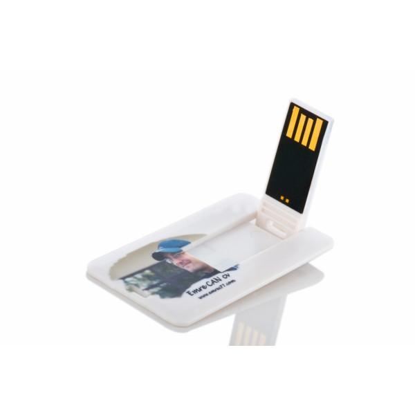 Mini Kart Şeklinde USB Flash Bellek