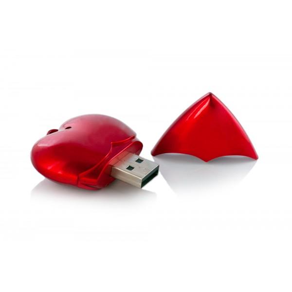 Kalp Şeklinde USB Flaş Disk